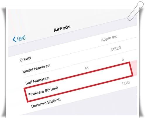 AirPods Güncellemesi Nasıl Yapılır? (AirPods Güncel Sürüm Yükleme)