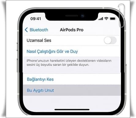 AirPods Nasıl Sıfırlanır?