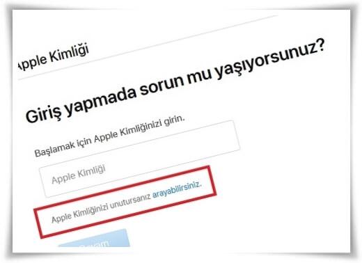 apple sifresi nasil degistirilir 11