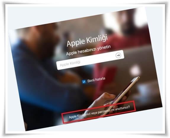 apple sifresi nasil degistirilir 3