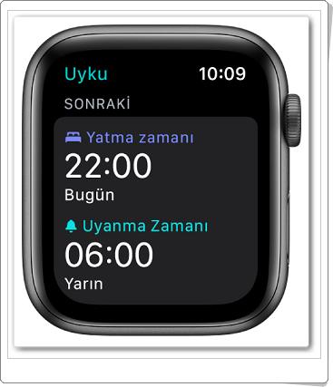 apple watch uyku takibi 1