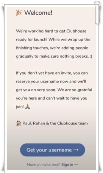Clubhouse hesabı nasıl oluşturulur?