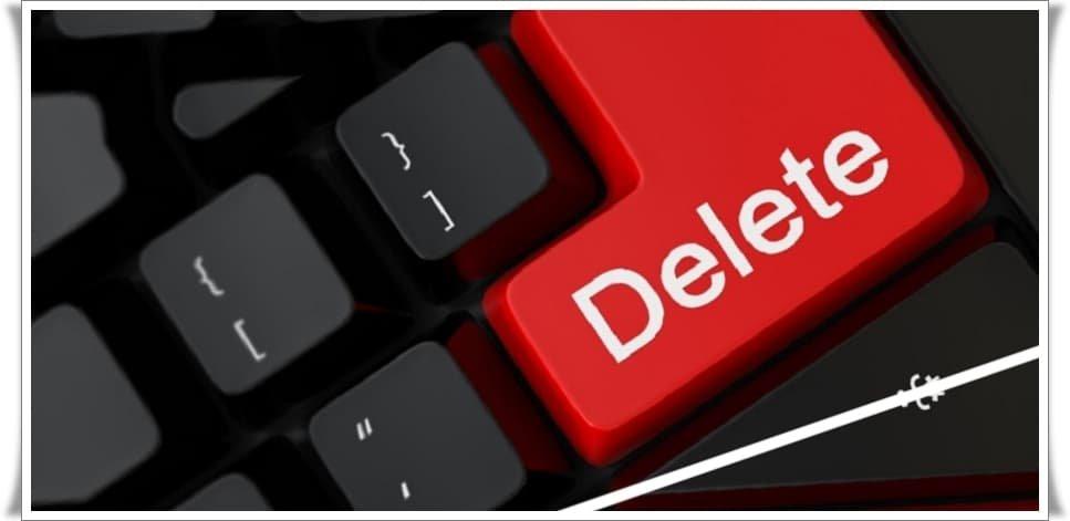 Bilgisayardaki Dosyaları Kalıcı Olarak Silme