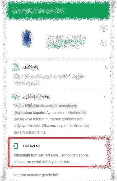 ekrani acilmayan telefon formatlama 1