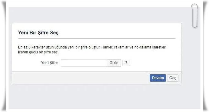 facebook sifresi nasil degistirilir 7