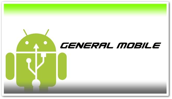 General Mobile USB Driver