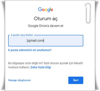 Google Drive Giriş Nasıl Yapılır?
