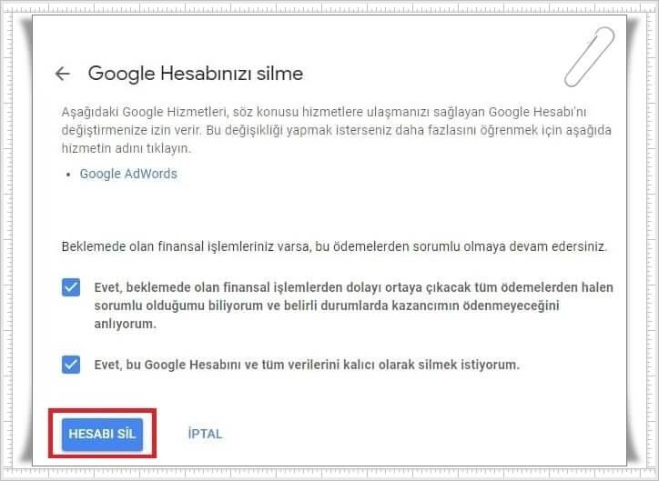 Google Drive Hesabı Nasıl Silinir?