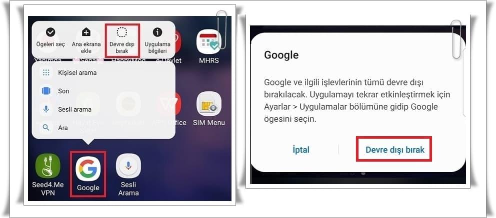 Google Durduruldu Sorunu Nasıl Düzeltilir?