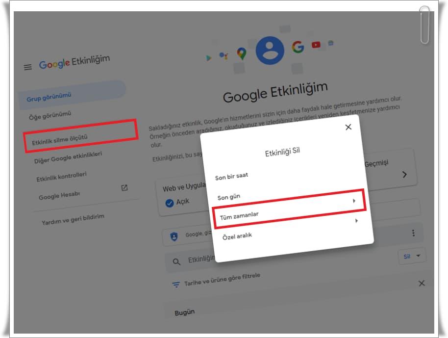 Google My Activity Nedir? (4 Adımda Google My Activity Kapatma)