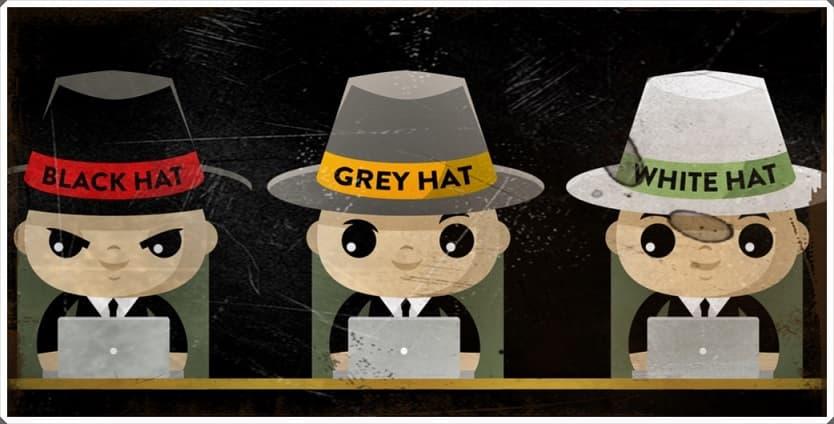 Hacker şapkalarının anlamları
