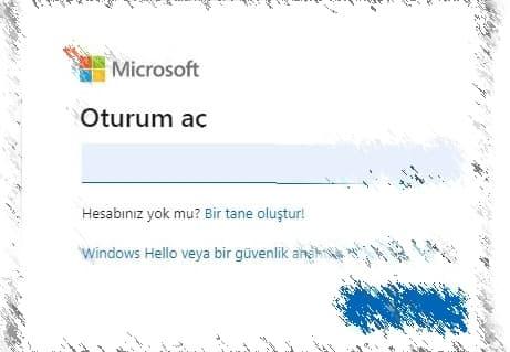 Hotmail Hesabına Giriş Nasıl Yapılır?