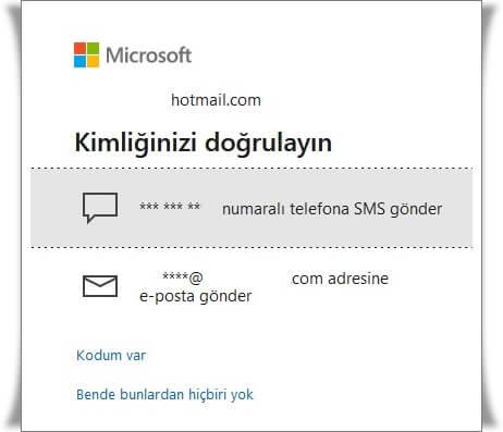Hotmail Şifresi Nasıl Değiştirilir?