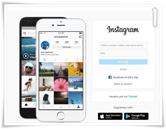 Instagram Giriş Nasıl Yapılır?