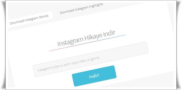 instagram hikaye indirme 1
