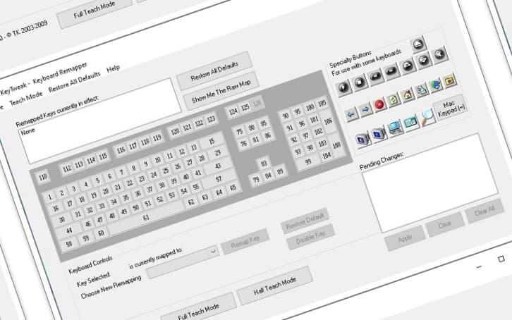 klavye tus degistirme programi 1
