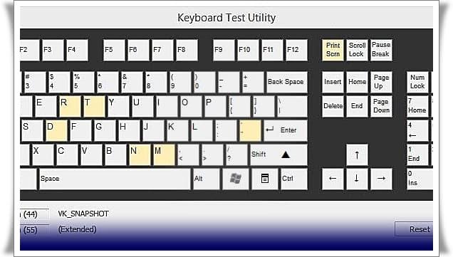 klavye tus testi 3