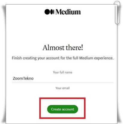 Medium Hesabı Nasıl Açılır?