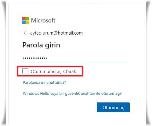 Microsoft Hesabına Giriş Nasıl Yapılır?