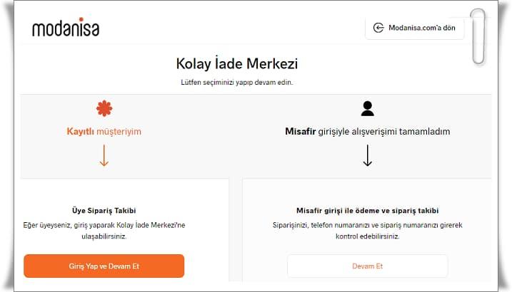 ModaNisa sipariş iptali, ModaNisa ürün iadesi ve ModaNisa para iadesi süreçleri hakkında tüm merak ettiklerinizi yazımızda bulabilirsiniz.