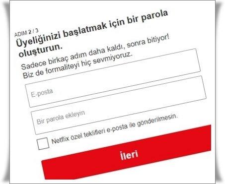3 Adımda Netflix Hesabı Nasıl Açılır?