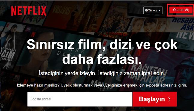Netflix Üye Girişi Nasıl Yapılır?
