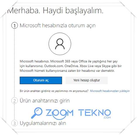 Office 365 Etkinleştirme , Office 365 Aktivasyon Nasıl Yapılır?