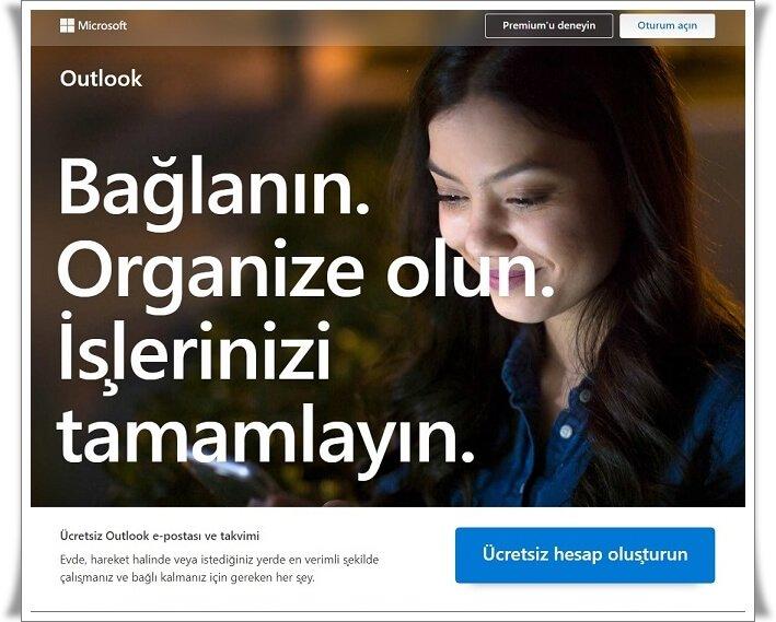 Outlook Hesabı Nasıl Açılır?