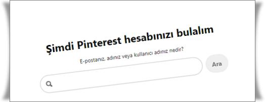 Pinterest Şifresi Nasıl Değiştirilir?