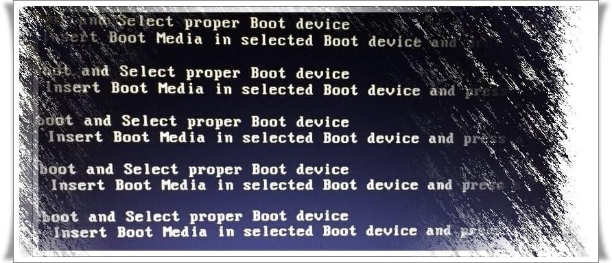 Reboot And Select Proper Boot Device Hatası Nedir, Neden Olur?