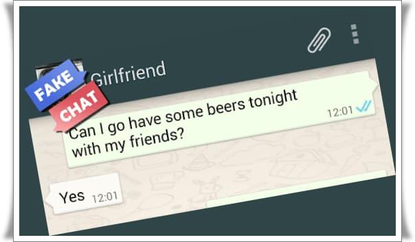 Sahte WhatsApp Konuşması Nasıl Oluşturulur?