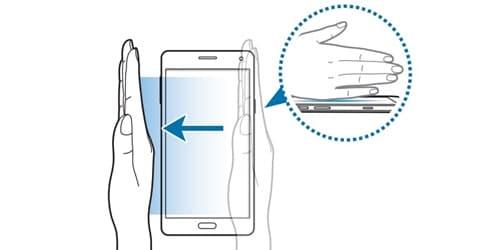 Samsung ekran görüntüsü alma