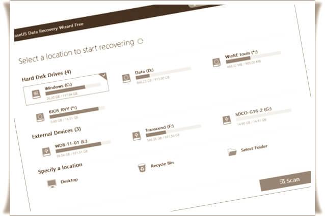 Silinen dosyaları geri getirme programları