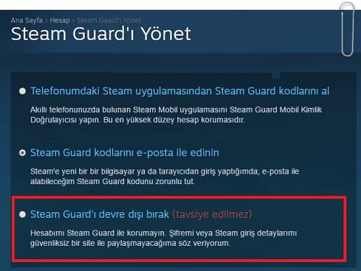 Steam Guard Nedir, Nasıl Aktif Edilir?