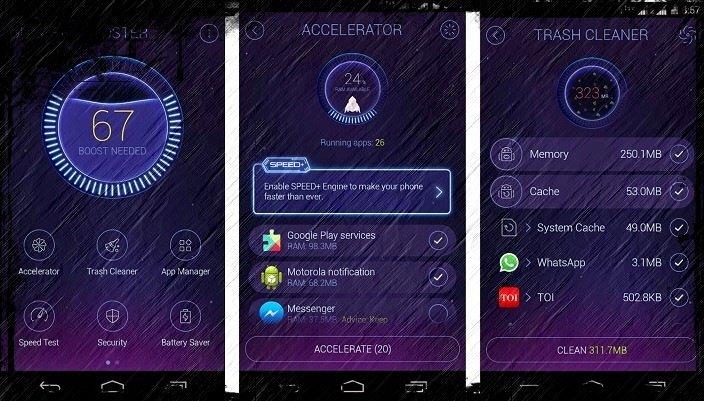 telefonda yer acma android 4