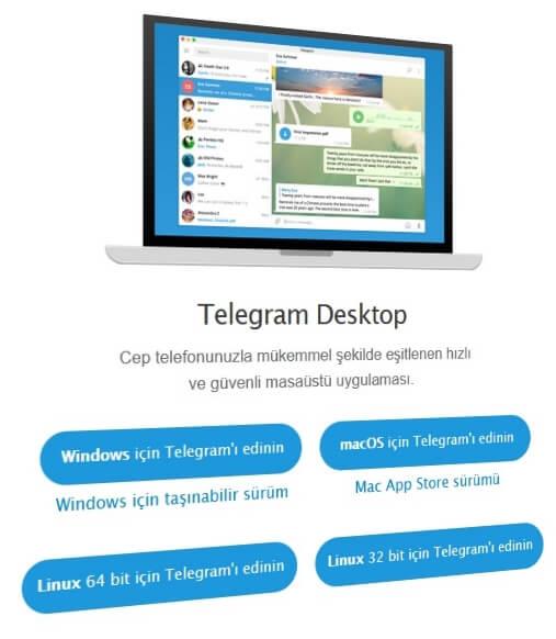 telegram masaustu uygulamasi telegram web 1