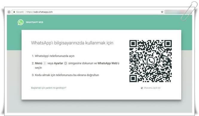 whatsapp web nasil kullanilir 1