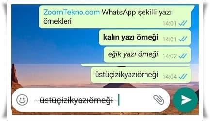 Whatsapp'ta Kalın Yazı Nasıl Yazılır?