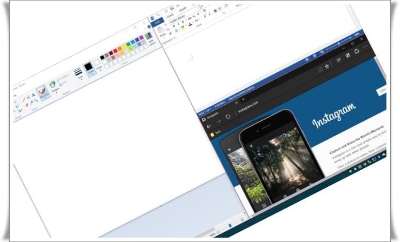 windows 10 coklu ekran bolme 1