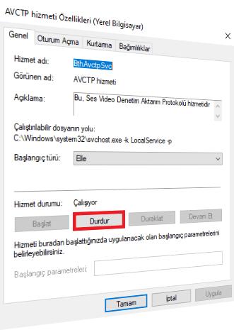 windows 10 gereksiz hizmetler nedir nasil kapatilir 3