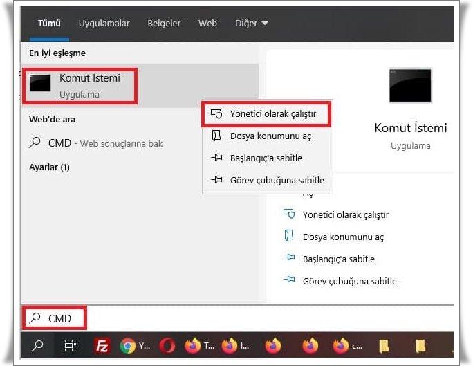 windows 10 gorev yoneticisi acilmiyor 2