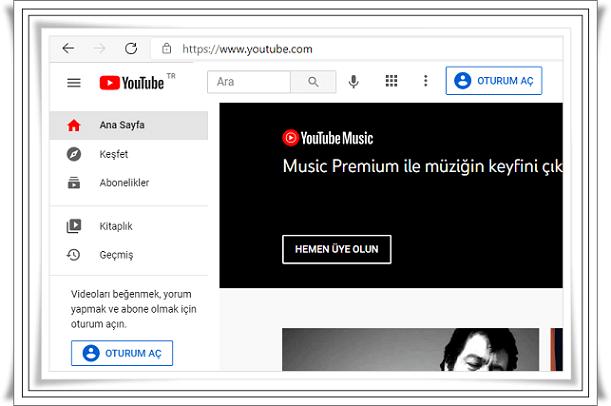 Youtube Giriş Nasıl Yapılır?