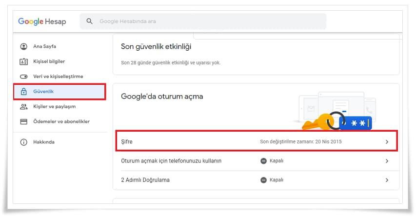 Youtube Şifresi Nasıl Değiştirilir?